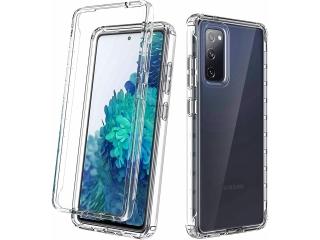 360 Grad Samsung S20 FE Fan Edition Case Transparent Soft Rundumschutz