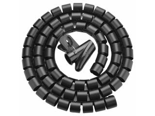 UGREEN Flexibler Kabelkanal Cable Zipper 1.5m Kabel Management schwarz