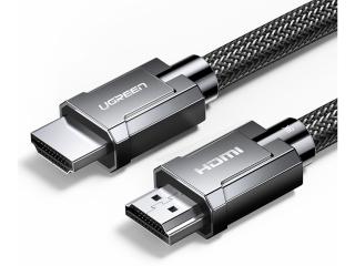 UGREEN HDMI 2.1 Kabel 8K 4K 120 Hz 48Gbps Nylon Premium 3 Meter grau