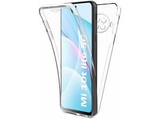 360 Grad Xiaomi Mi 10T Lite Touch Case Transparent TPU Rundumschutz