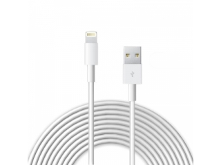 Apple iPhone Lightning USB Ladekabel 2 Meter - weiss