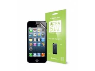 iPhone SE SGP Steinheil Anti Fingerprint Schutzfolie Vorne+Rückseite